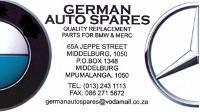GERMAN AUTO SPARES MIDDELBURG
