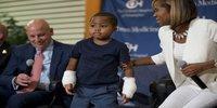 8 Year Old Child Undergoes Double Hand Transplant