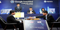 Google's artificial intelligence triumphs world Go champ in 1st match