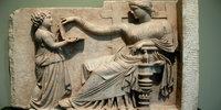 Ancient Greek statue resembles a laptop