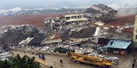 Landslide buries buildings in Shenzhen, China