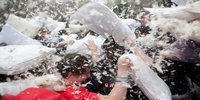Pillow Fight Turns Bloody