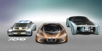 BMW's Futuristic Concept Car Can Drive Itself and Change Colour on the Fly!